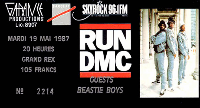 b7b87de65eb3 Ricky Powell s Iconic Run DMC Paris Photo