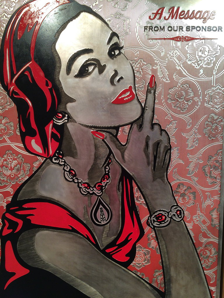 Shepard Fairey at Pace Prints.