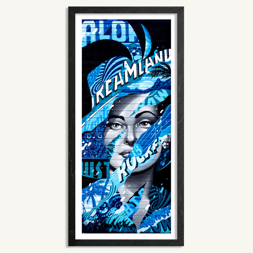 Aloha Dreamland by Tristan Eaton - Click To Purchase