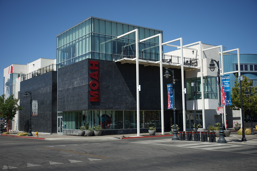 The Museum of Art and History in Lancaster, California.