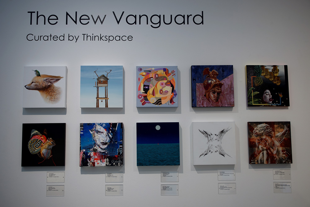 """The New Vanguard"" curated by Thinkspace Gallery."