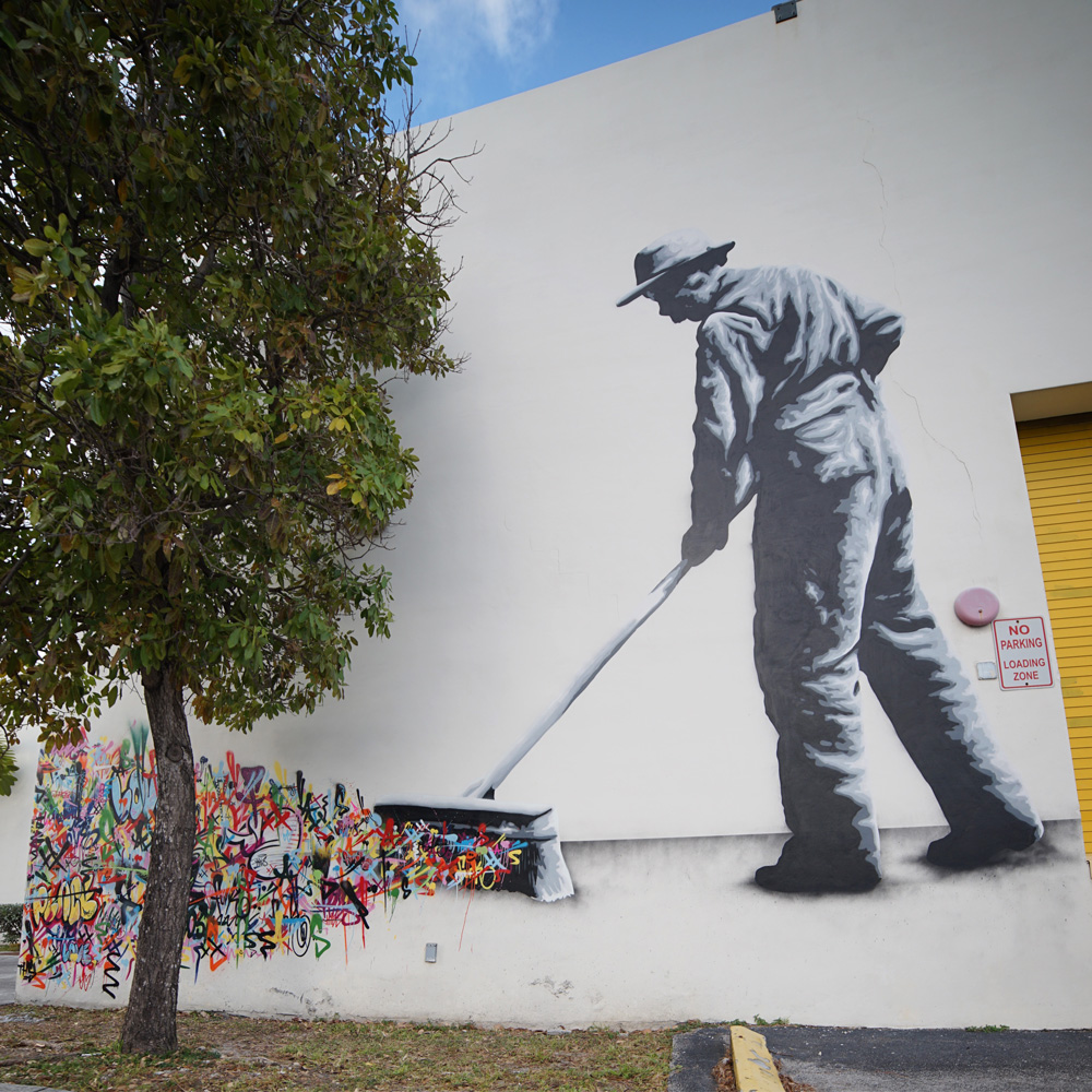 Martin Whatson at Eneida M. Hartner Elementary School for The Raw Project.