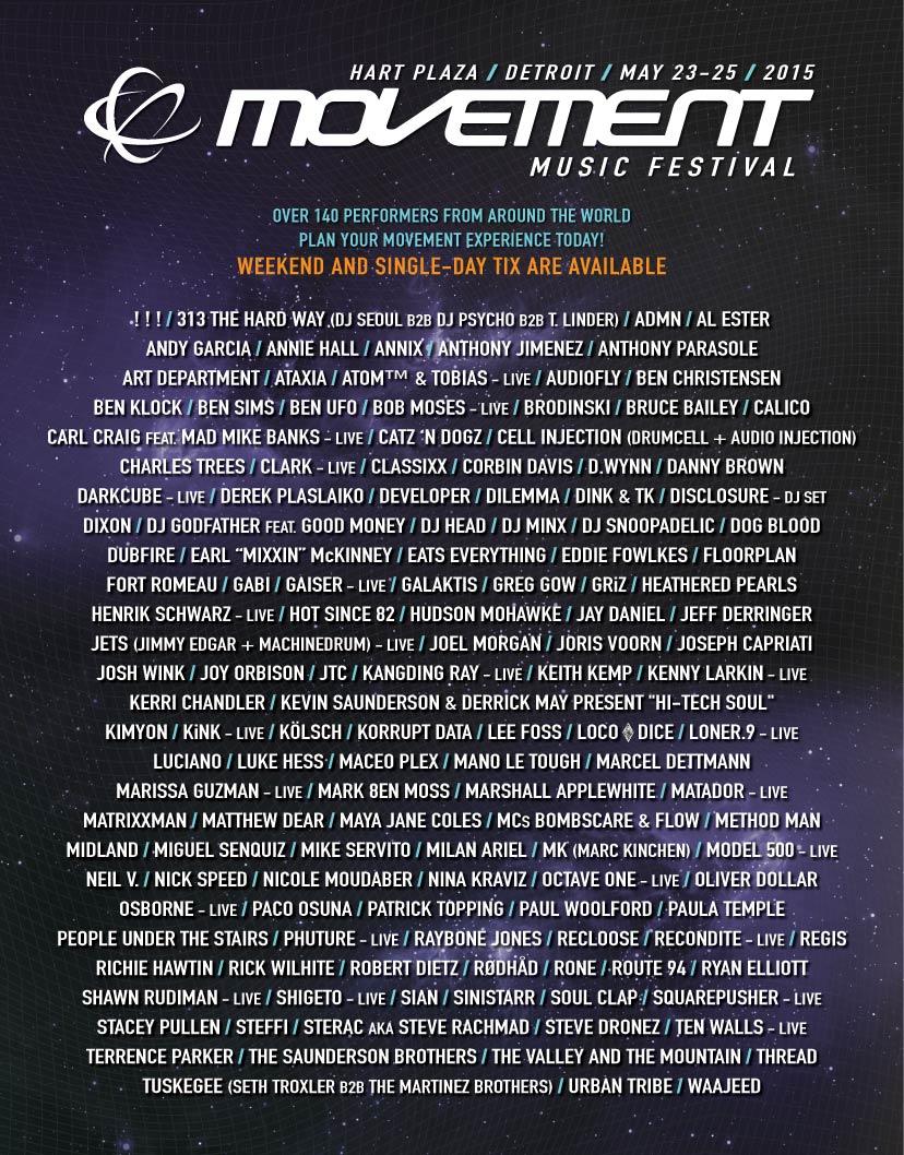 lineup2015