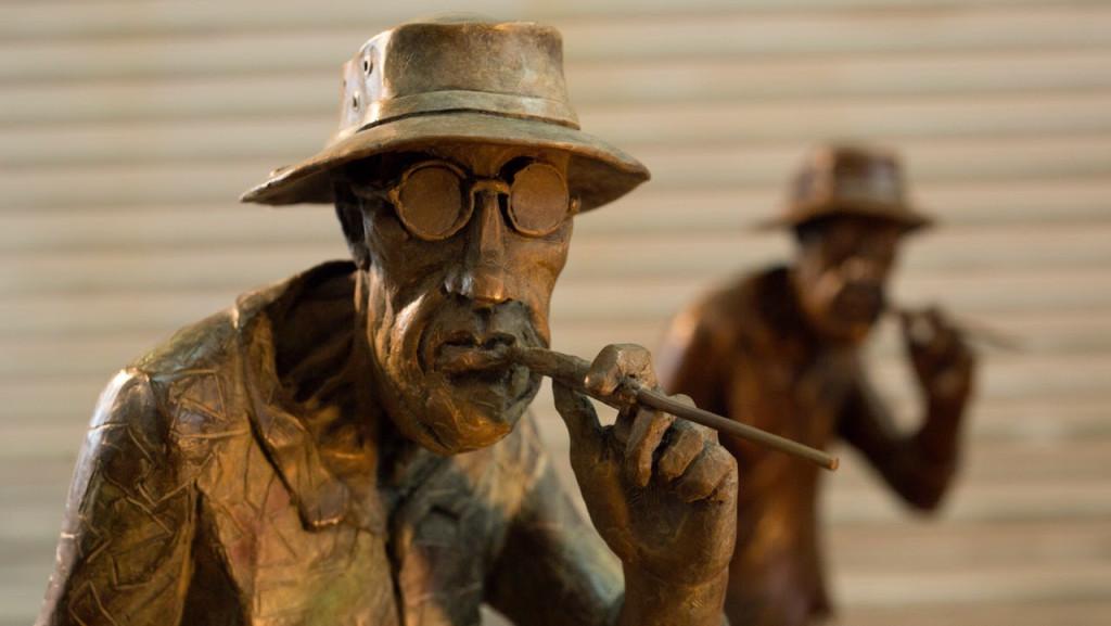 ralph-steadman-bronze