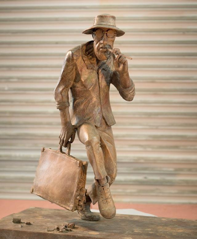 ralph-steadman-bronze3