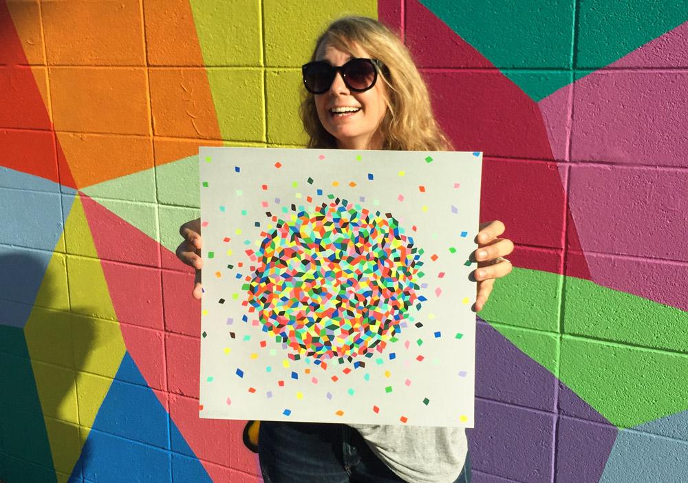 Clound Confetti + Original Artwork by Kristin Farr - Click //////to Purchase