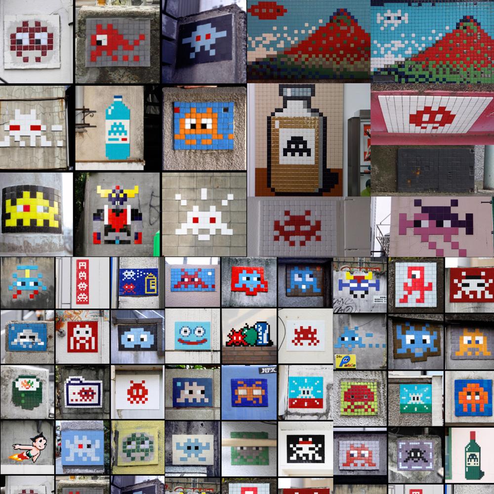 Tokyo Space Invaders.